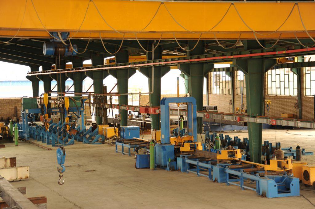سالن تولید زارع استیل