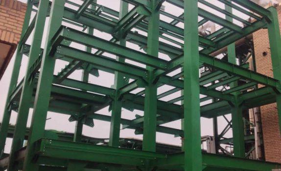سازه فولادی پیچ و مهره